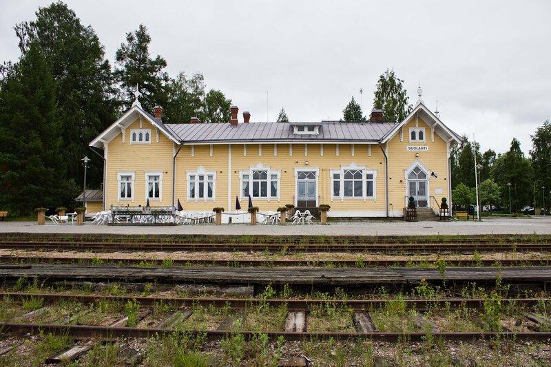 станция Суолахти (Suolahti)