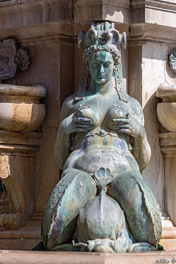 Италия, Болонья, фонтан Нептуна