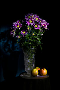 Этюд с хризантемами