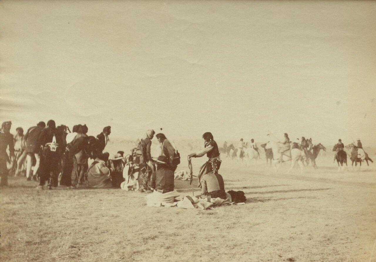 Индейские танцы, резервация «черноногих»