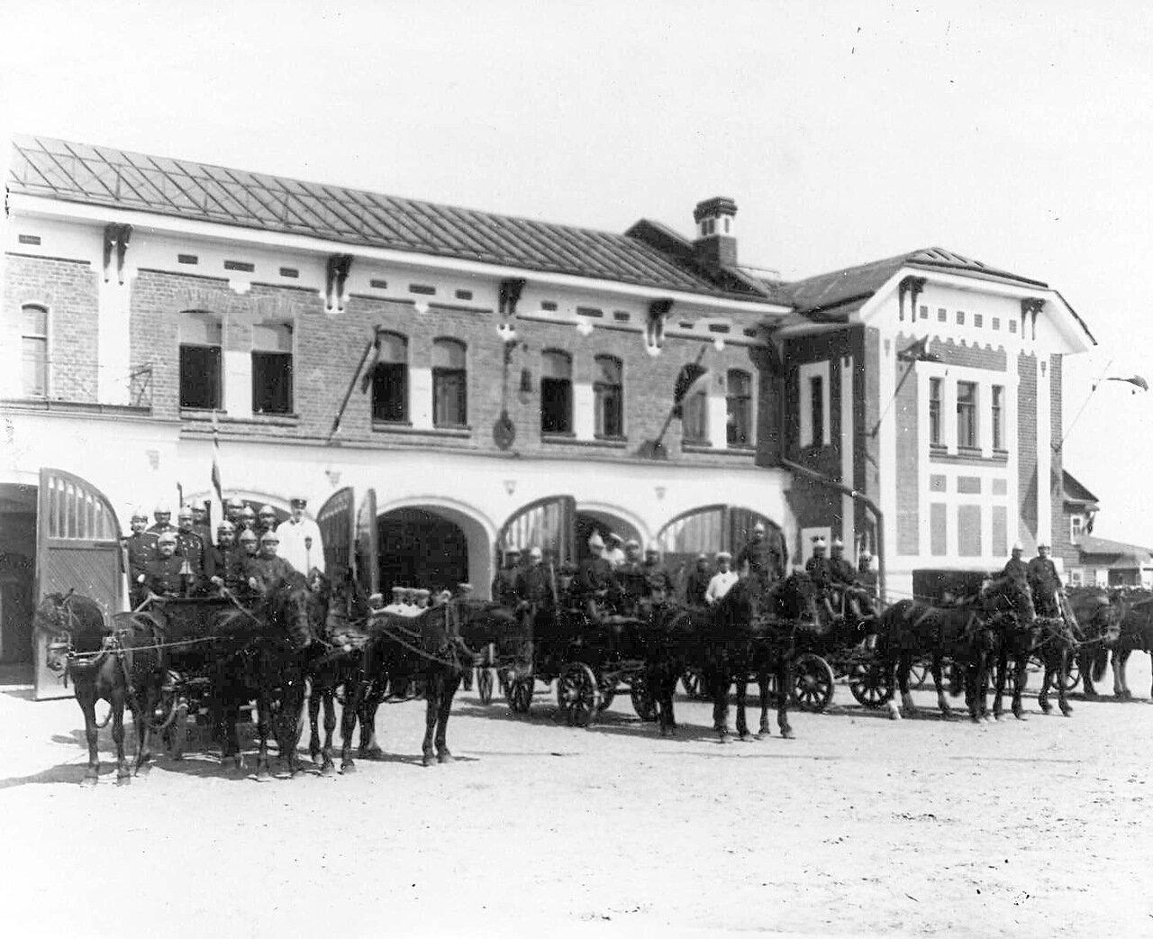 11. Показательный выезд пожарной команды. До 1914