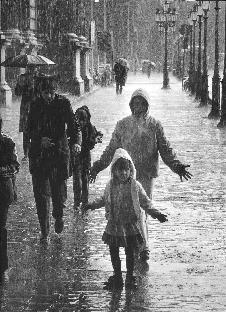 1981. Летний дождь
