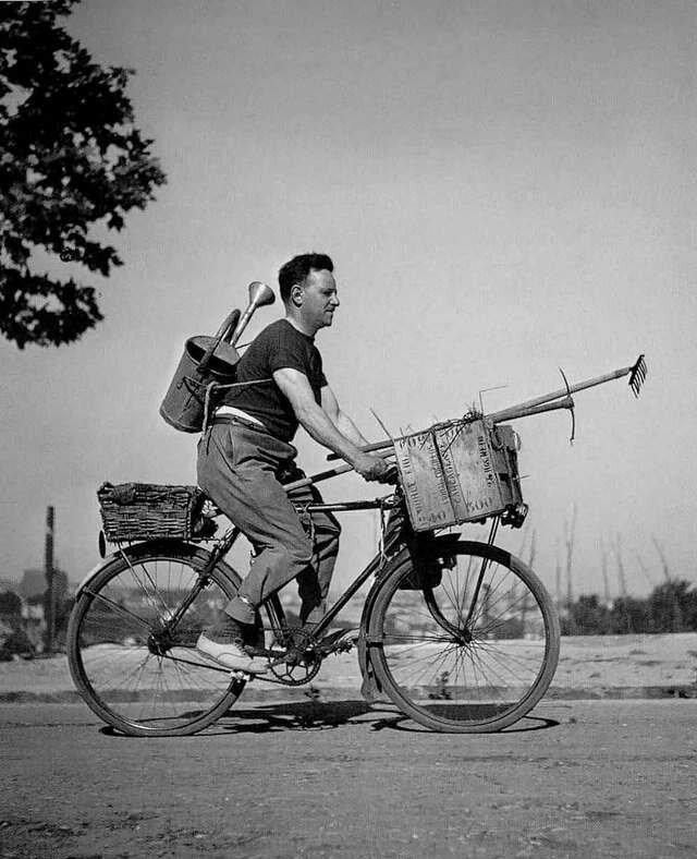 1949. Велосипедист