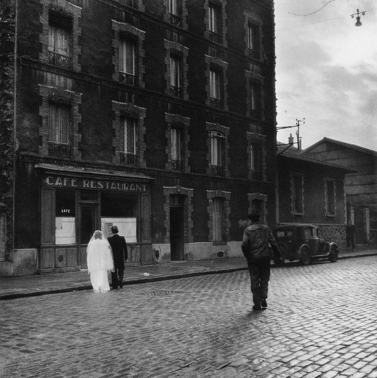 1945. Скромно и интимно. Улица Марселин Бертелот