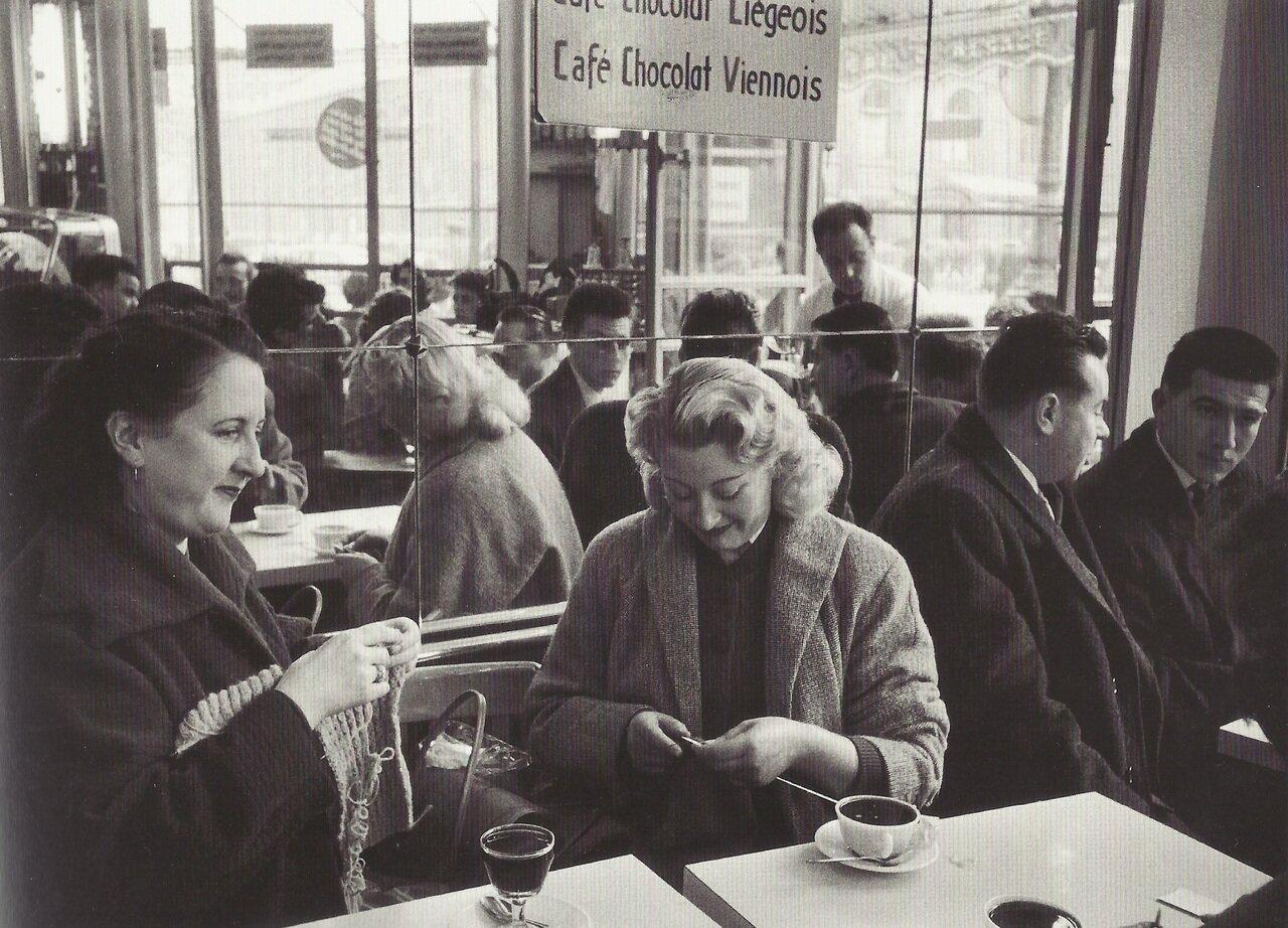 1957. Кафе на Рю Риволи