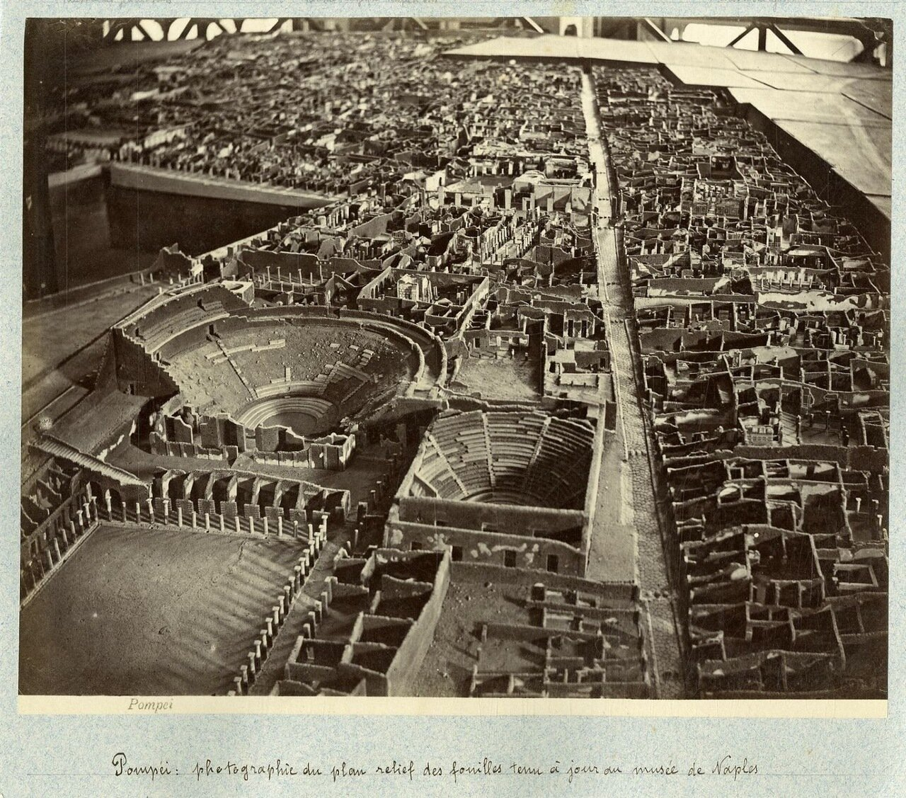 1880. Макет города