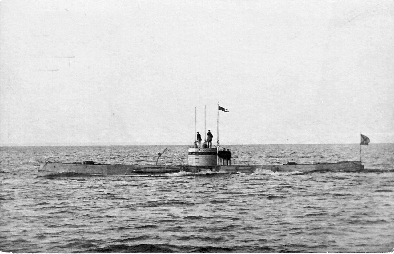 04. Подводная лодка Макрель