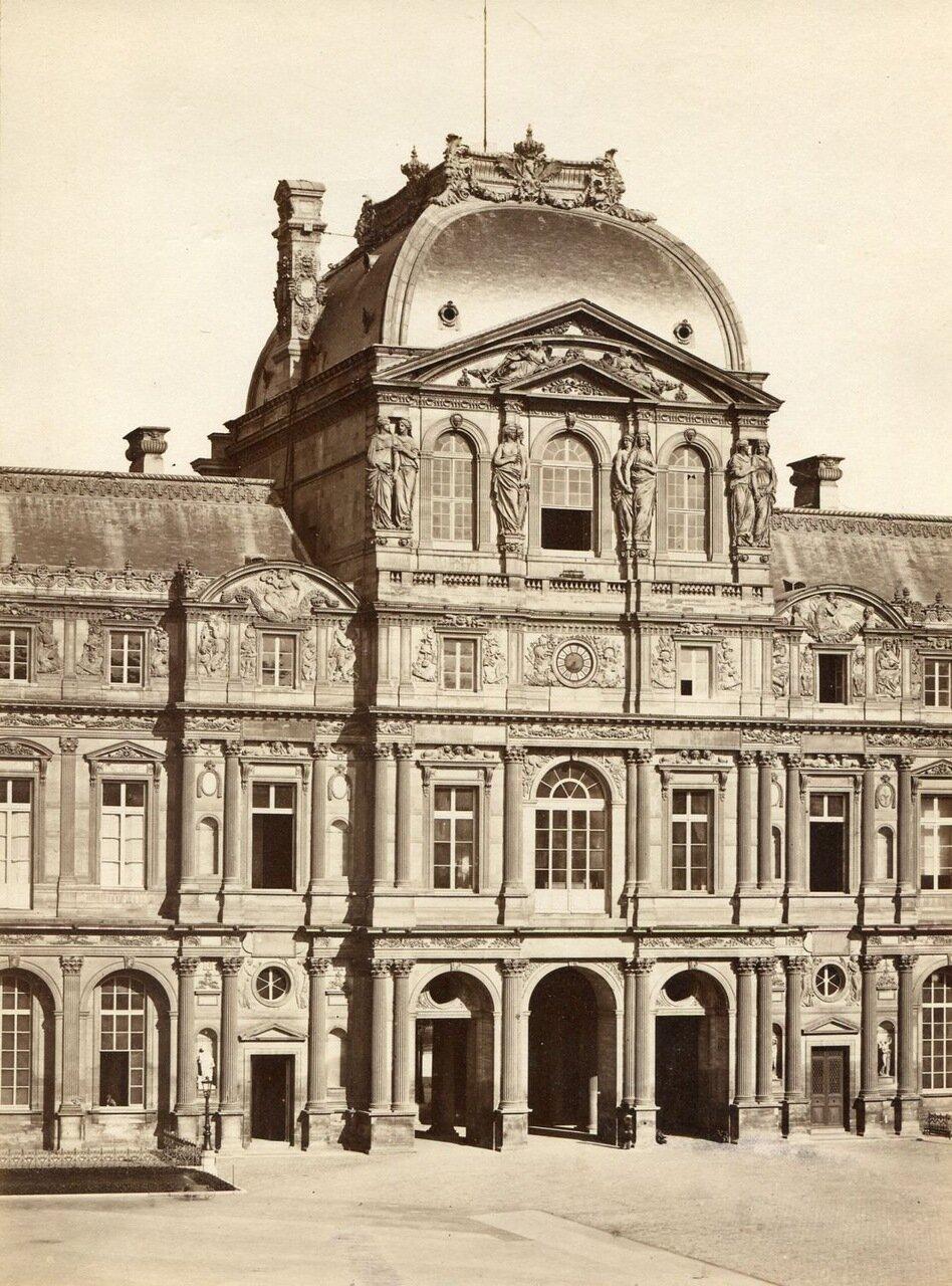 Лувр. Фасад. 1875
