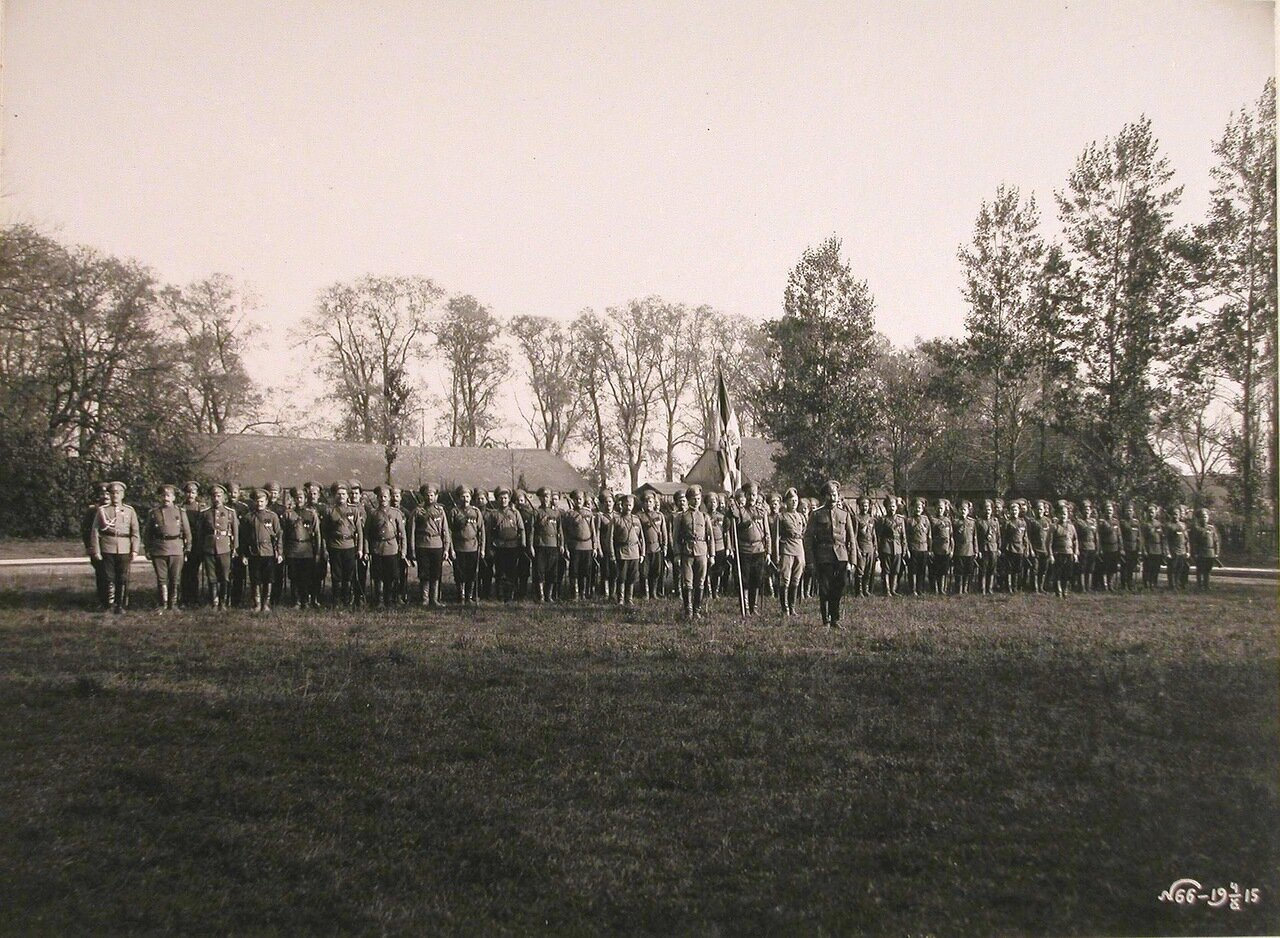 23. Бойцы третьей сотни 18-го Оренбургского казачьего полка