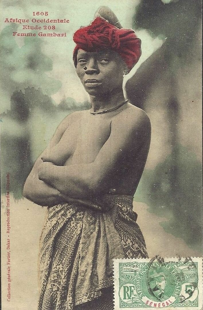 1605. Женщина народа гамбари