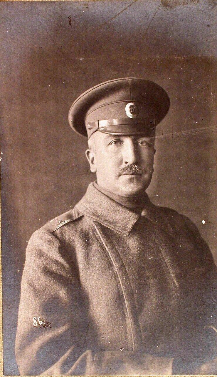 01. Начальник штаба Генерального штаба генерал-майор Беляев