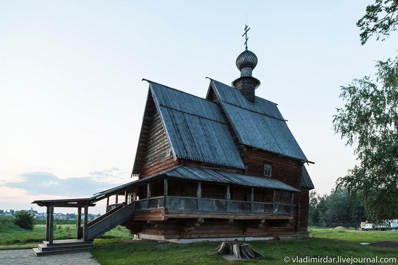 Никольская церковь из села Глотово в Суздале