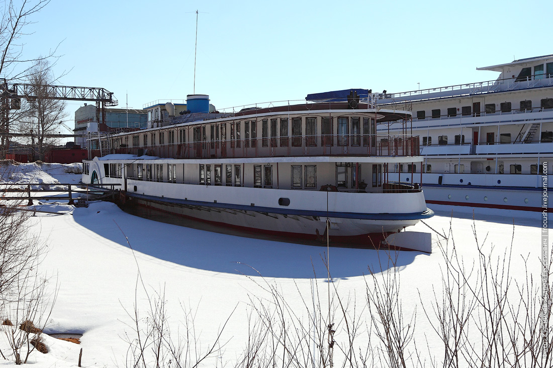 пароход Станюкович фотография