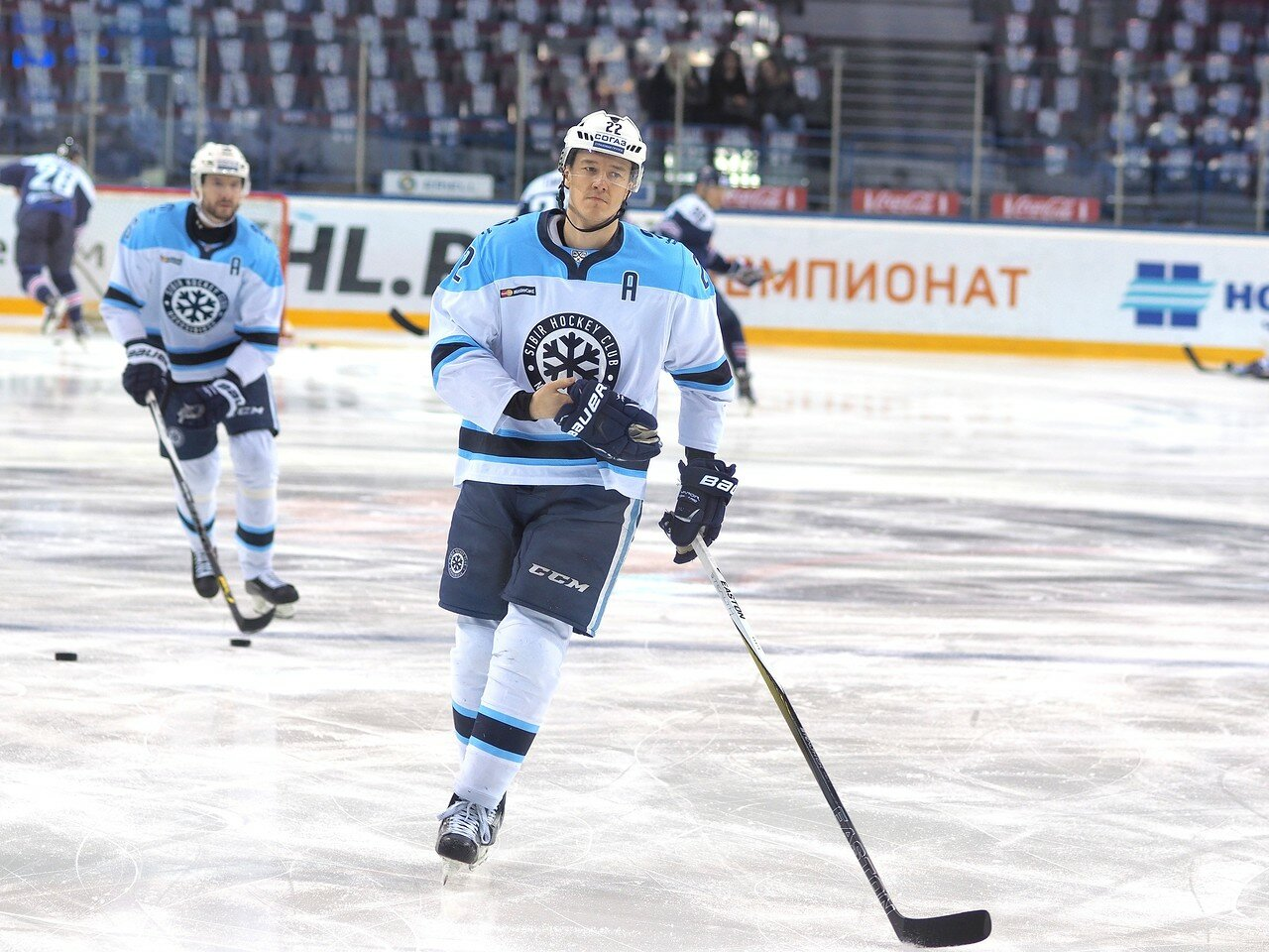 10Восток 1/2 плей-офф Металлург - Сибирь 08.03.2016