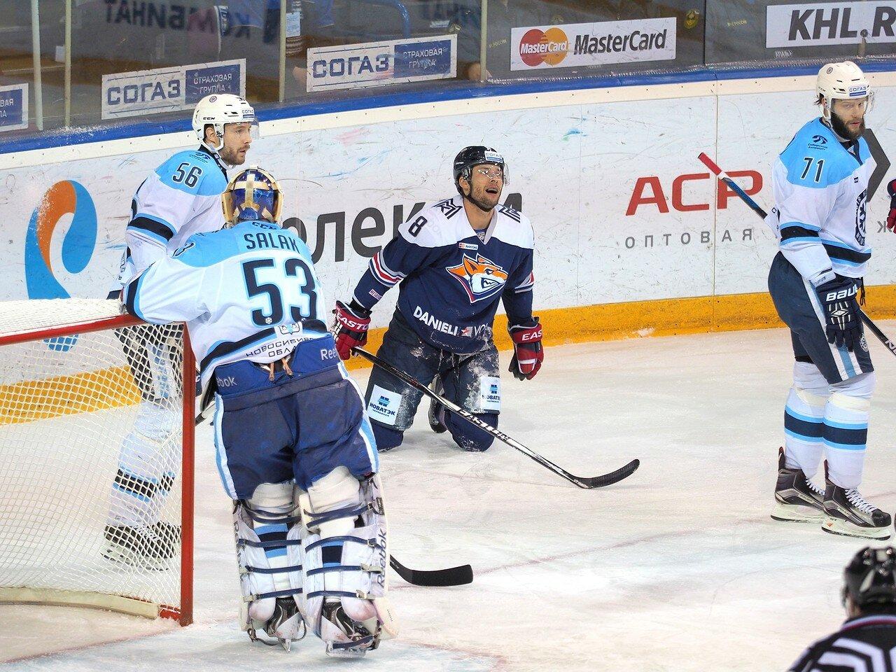 67Восток 1/2 плей-офф Металлург - Сибирь 08.03.2016