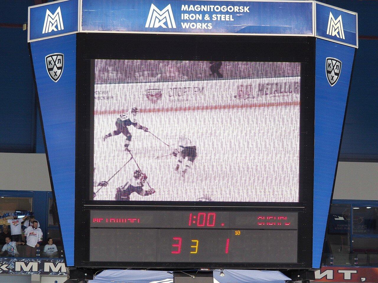127Восток 1/2 плей-офф Металлург - Сибирь 08.03.2016