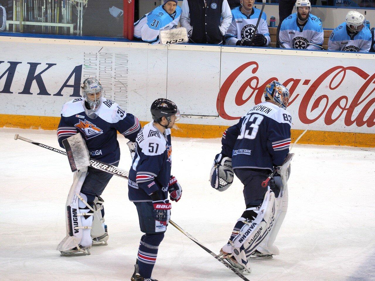 103Плей-офф 2016 Восток 1/2 Металлург - Сибирь 10.03.2016