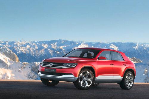 Новый кроссовер Volkswagen будет представлен в Женеве