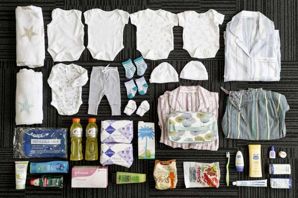 Вещи, которые берут с собой в роддом женщины разных стран мира