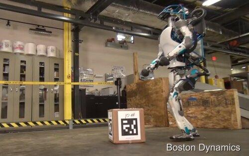 Крутой робот Атлас