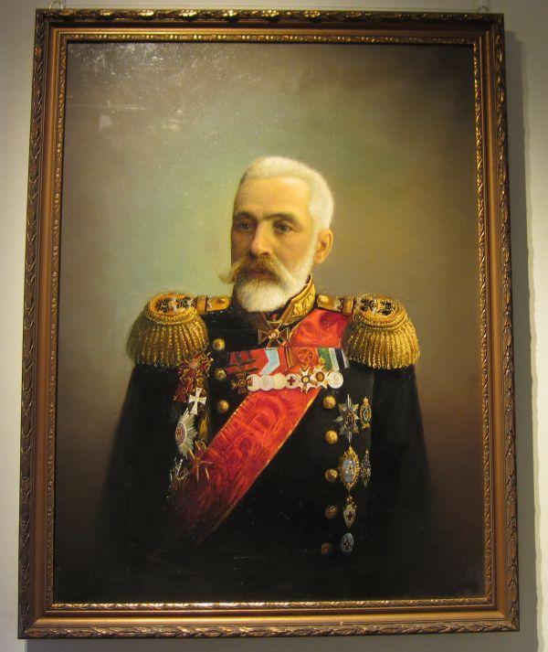 Портрет морского министра И.К.Григоровича— художник Пётр Бажанов