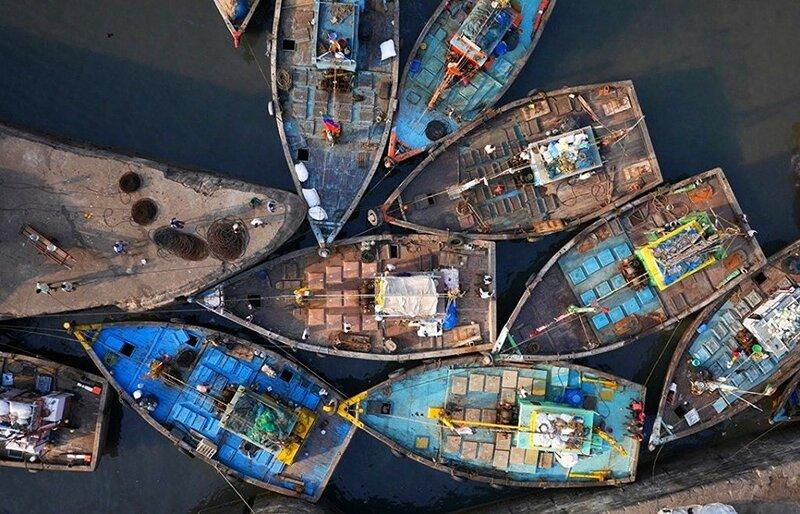 Мумбаи (фото с помощью беспилотника)