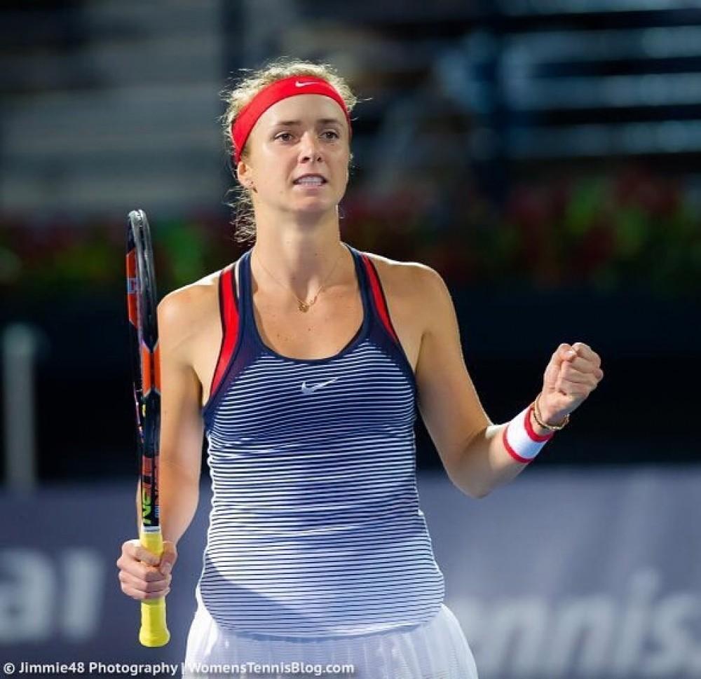Свитолина обыграла Бушар истала победительницей турнира вМалайзии