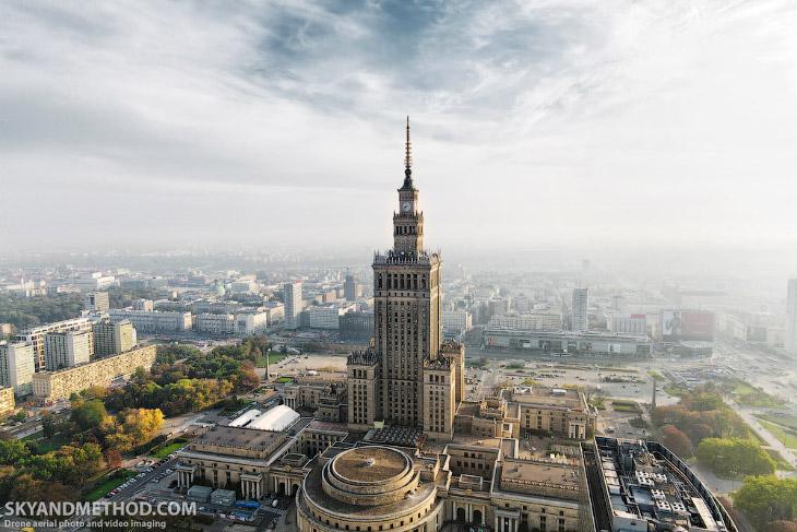 Варшава с высоты (25 фото)