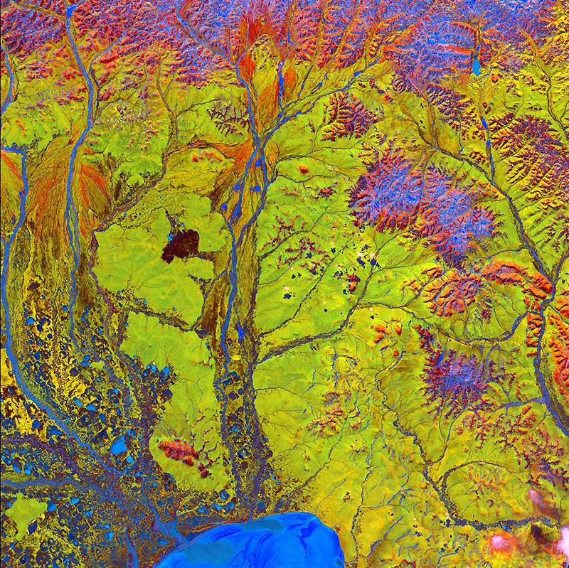 15. Яркие краски и странные формы сошлись в этом снимке, который похож на картинку из книги в стиле