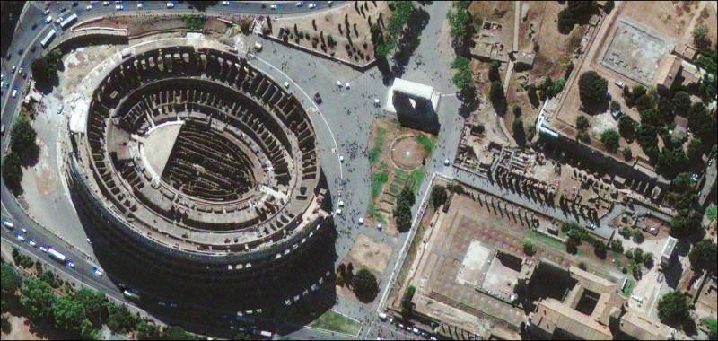 Древние места обитания человека со спутника GeoEye (14 фото)