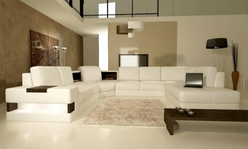 Дизайн интерьера гостиной в светлых оттенках фото 4