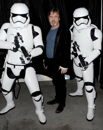 Star Wars.The Force Awakens. Звёздные войны. Пробуждение силы. 2015 Марк Хэммил
