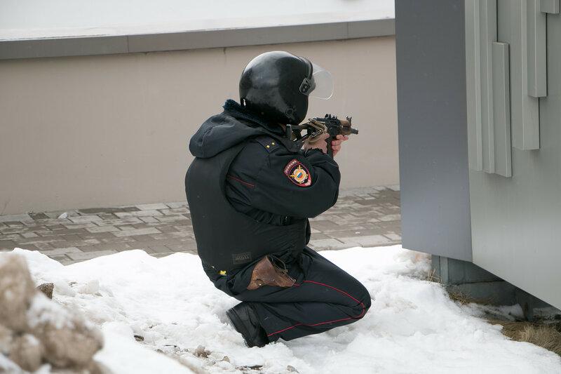 2016.02.26 - В Красногорском районе состоялись антитеррористические учения.