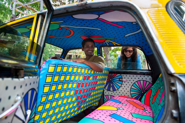 Taxi Fabric was launched in April 2015 and has been working hard to brighten up some of the 55,000 t