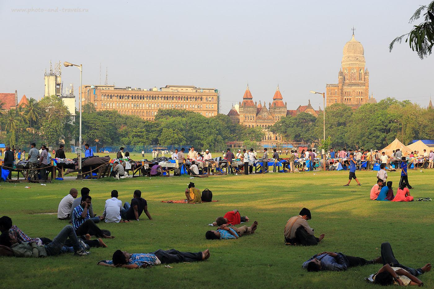 Фотография 4. Азад Мейден. Отчеты об экскурсии в Мумбаи самостоятельно. Поездка в Индию (24-70, 1/125, 0eV, f8, 70 mm, ISO 100)