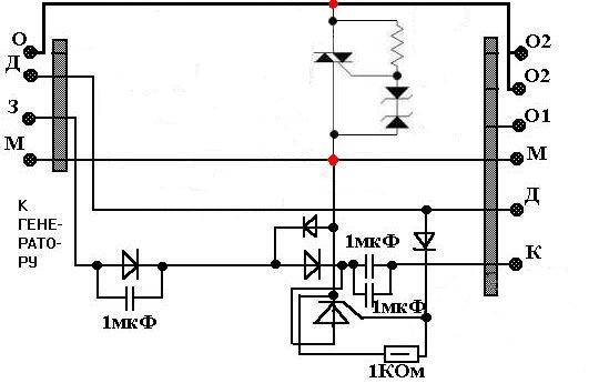 Схема коммутатора 262 минска