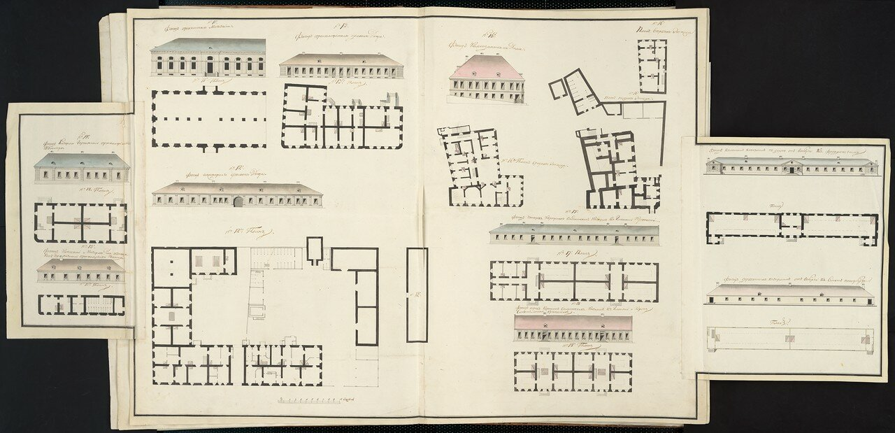 06. Планы зданий. Выборг, часть 2