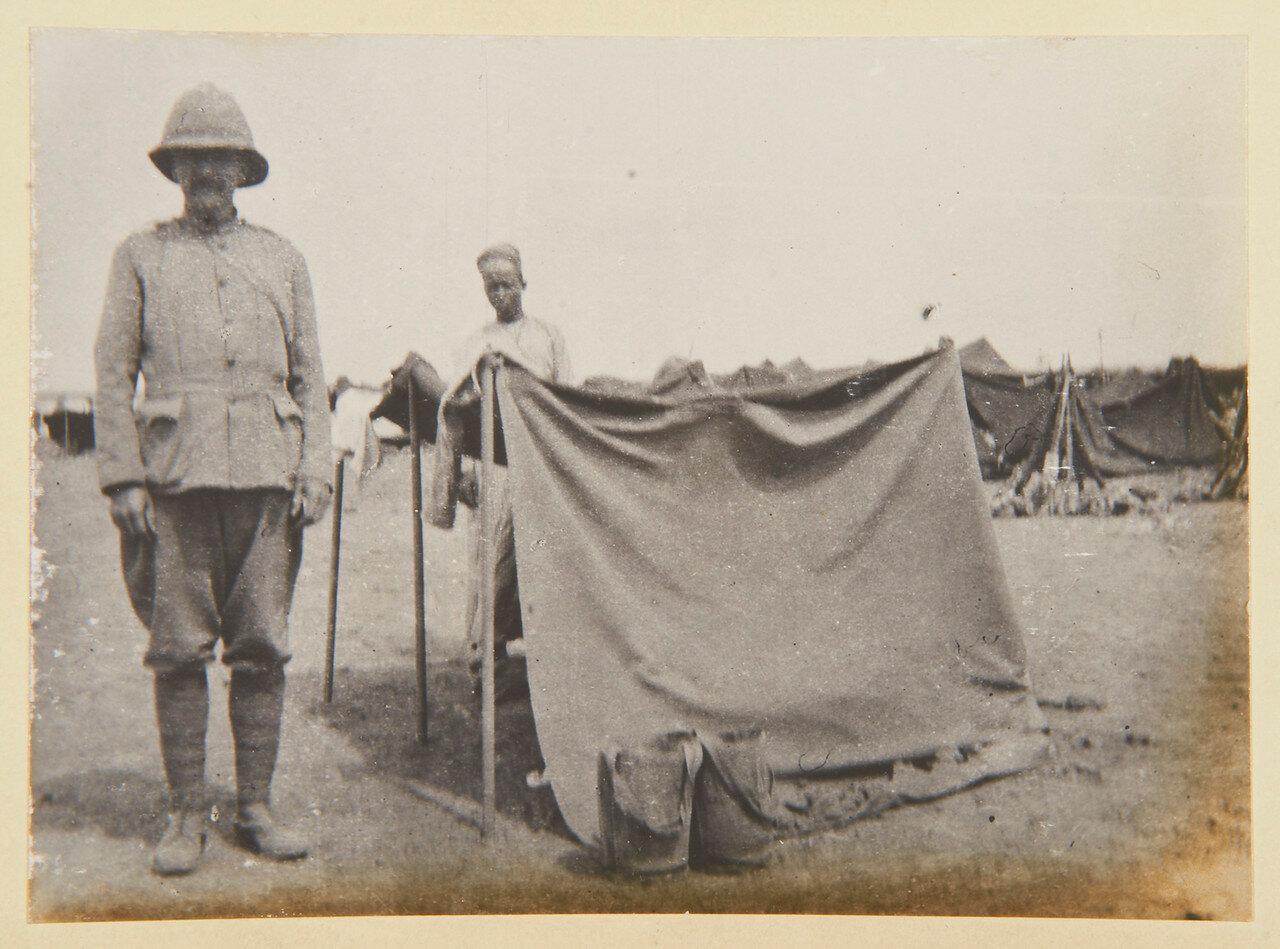 Наш собственный военный корреспондент в Омдурмане Фрэнсис Грегсон.  Сентябрь 1898