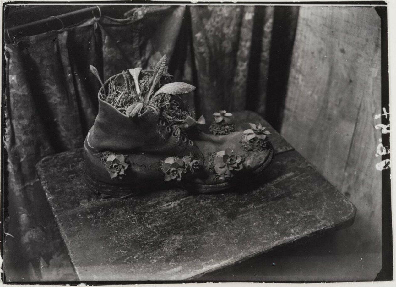 1932. Сапожная мастерская в районе Монпарнаса