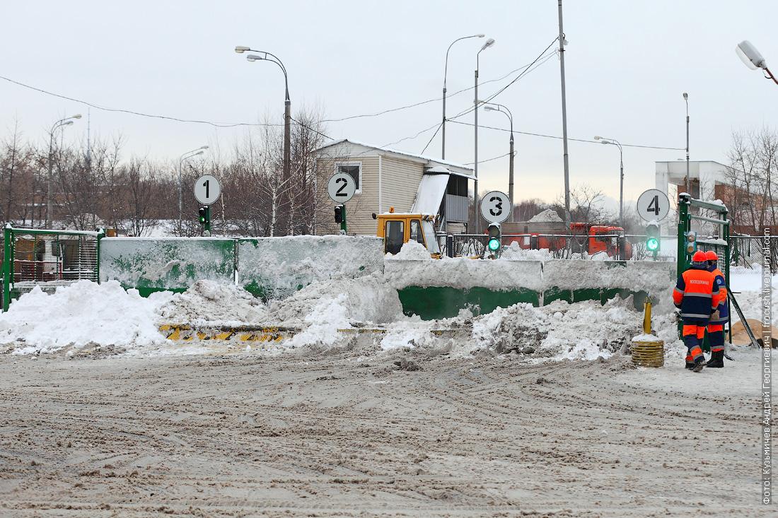 Стационарный снегосплавный пункт Черкизово