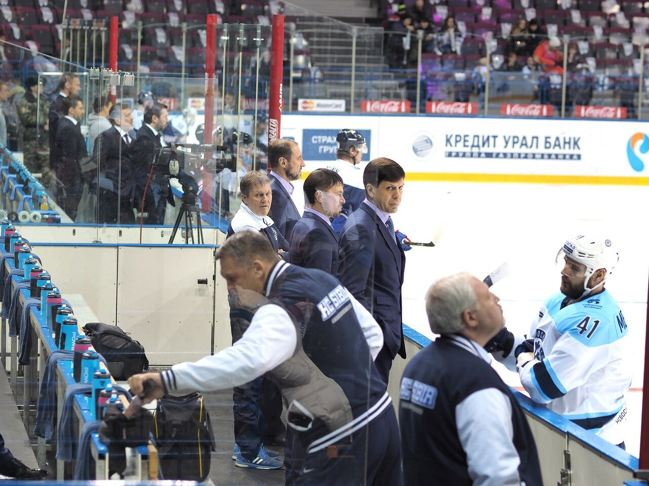 9Плей-офф 2016 Восток 1/2 Металлург - Сибирь 16.03.2016