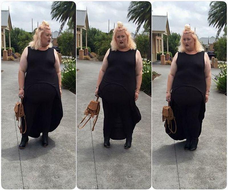 Толстушку из Австралии не волнует мнение других