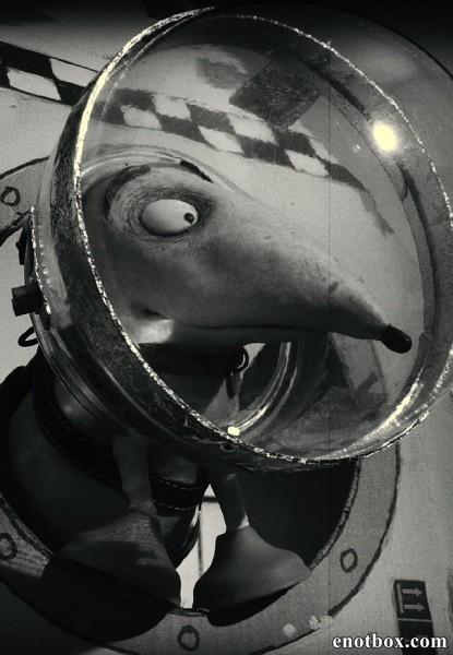 Капитан Спарки против летающих тарелок / Captain Sparky vs. The Flying Saucers (2013/BDRip/HDRip)