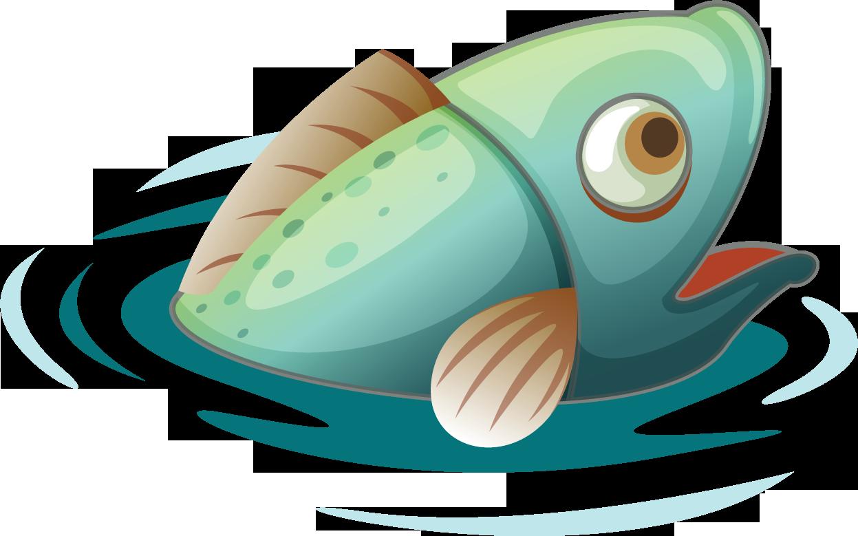 Картинки смешных мультяшных рыб