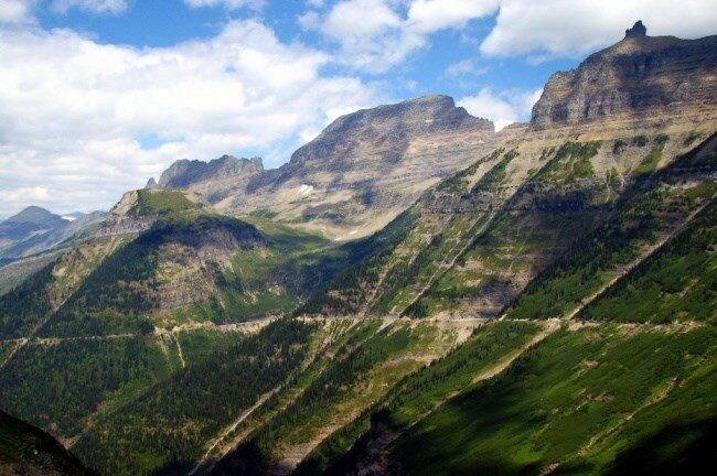 Солнечная дорога, штат Монтана, Северная Америка