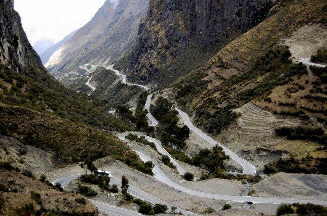 Перевал в Перу