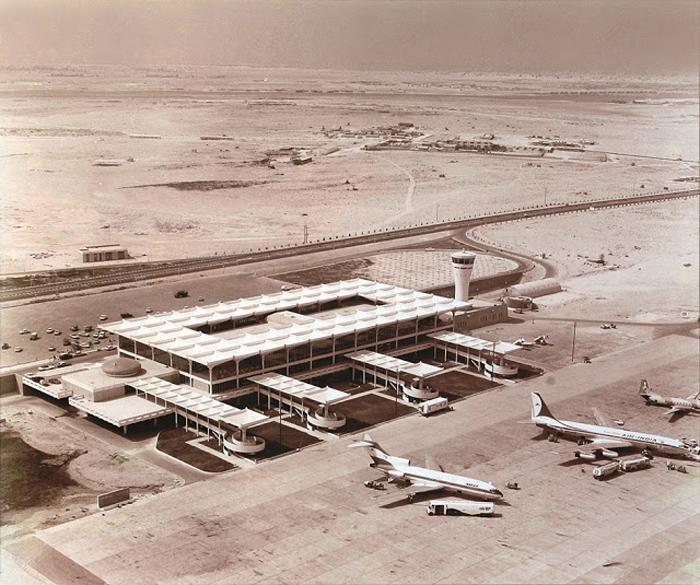 Аэропорт Дубай. 1971г.