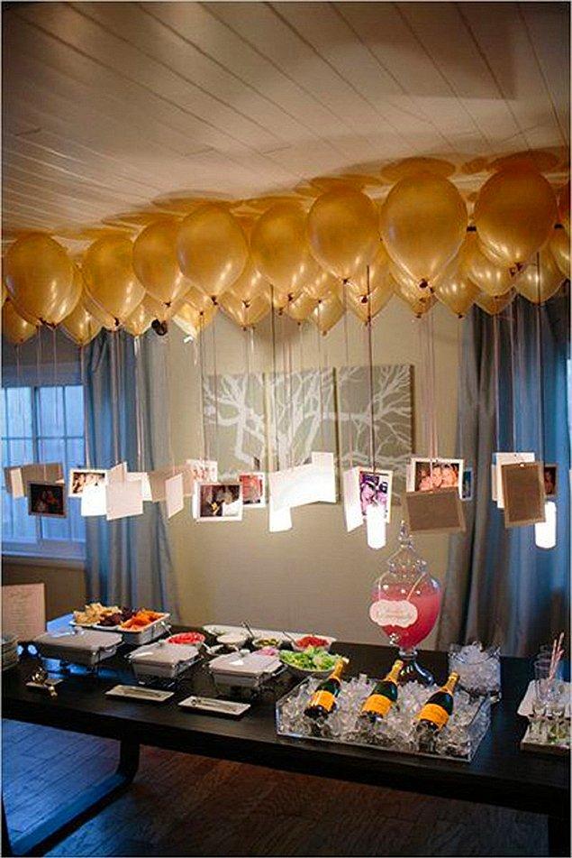 19 идей использования воздушных шаров для украшения праздников (19 фото)