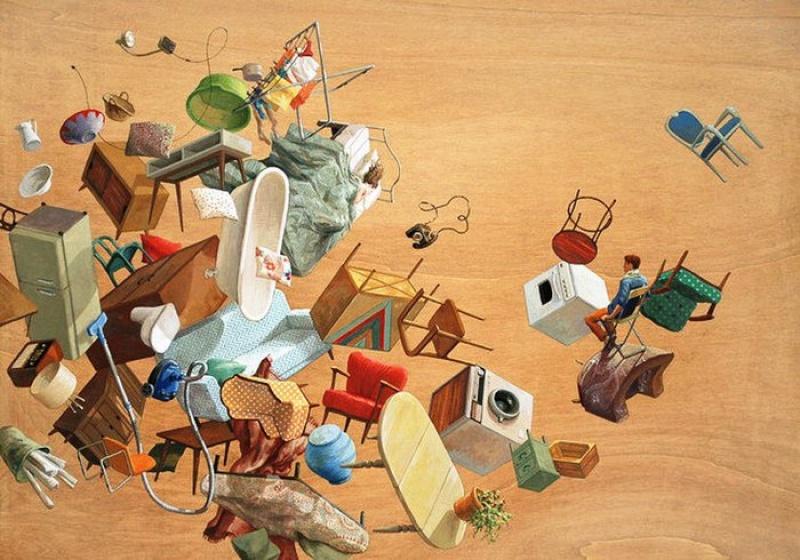 Каждую картину этой художницы можно рассматривать минут посорок