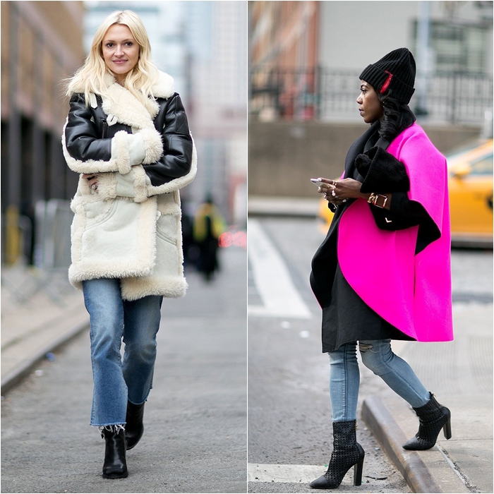 How to Wear Jeans with a Coat: Street Style picture 2